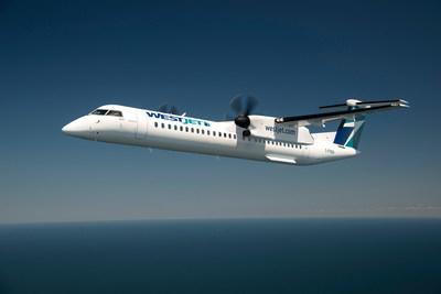 WestJet Encore célèbre cinq années de présence sur les marchés régionaux à l'échelle du Canada, où il offre un accès à plus de destinations et suscite la concurrence. (Groupe CNW/WESTJET, an Alberta Partnership)
