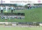 International Yoga Day Mumbai (PRNewsfoto/Hari Krishna Exports Pvt. Ltd.)