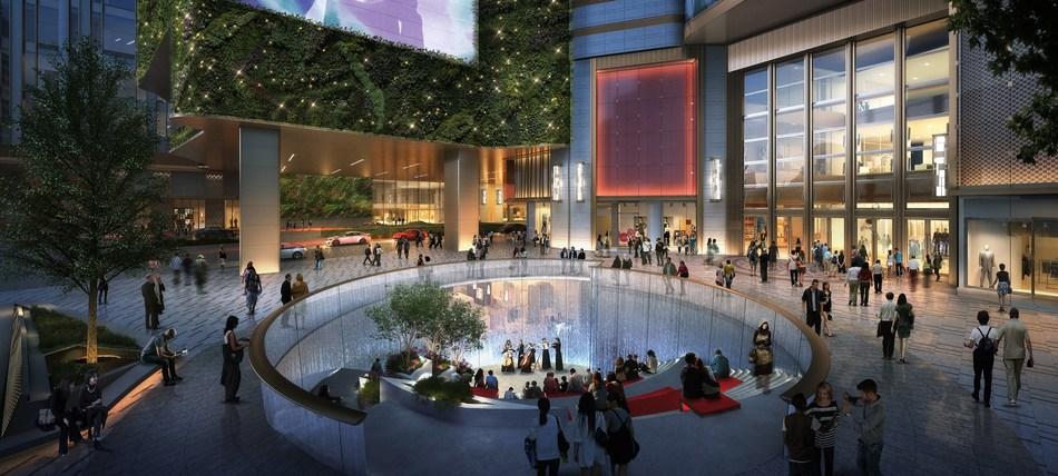 Sunken Plaza of K11 MUSEA (PRNewsfoto/New World Development and K11 G)
