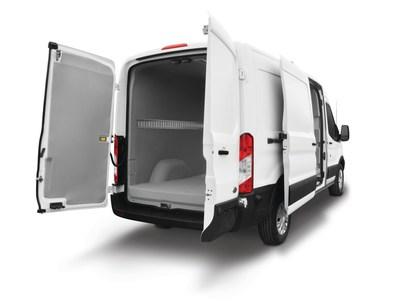 Spartan Motors' Utilimaster® Refrigerated Ford Transit Cargo Van