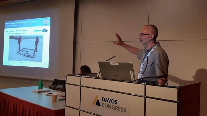 Professor Nuno Pereira Presents the AERP program at Polar 2018
