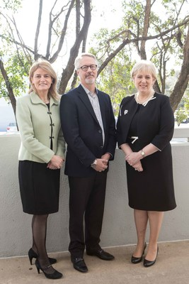 From L-R Mary Buckley, Executive Director, IDA Ireland, Brian Miller,  SVP Customer Success and Operations, Forcepoint and Minister for Business, Enterprise and Innovation Heather Humphreys TD)