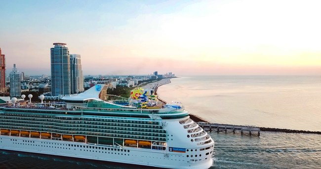 Royal Caribbean International's much-hyped Mariner of the Seas sails into its new home in Miami today amped up with $120 million of new thrills, restaurants, staterooms and entertainment.