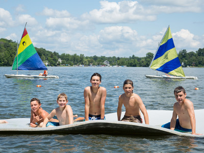 Boys at Camp Awosting have traded their electronic devices for sailboats and go-karts for the summer, as they enjoy some fun on Bantam Lake in Morris, CT. Awosting is one of the oldest private boys camps in America, in continuous operation since 1900. Boys ages 6 to 16 enjoy traditional sports, water, and adventure activities for 2 or 4 weeks each summer. Session availability and pricing may be found at http://www.awosting.com