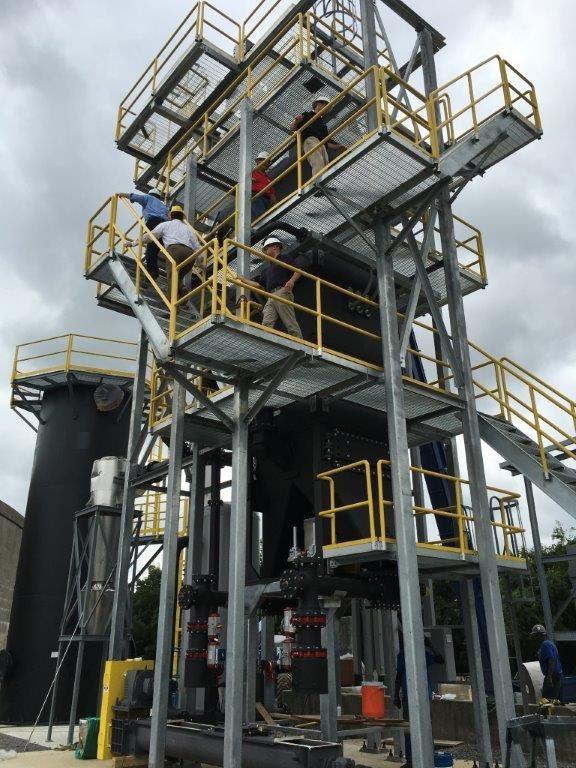 The Lebanon Downdraft Gasification Plant
