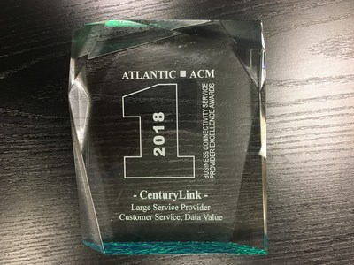 Analyst firm ATLANTIC-ACM recognizes CenturyLink for delivering high-quality customer service and value to business customers