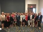 Le ministre, Stéphane Billette, accompagné des membres de la délégation du Québec lors de la mission économique à Détroit. (Groupe CNW/Cabinet du ministre délégué aux Petites et Moyennes Entreprises, à l'Allègement réglementaire et au Développement économique régional)