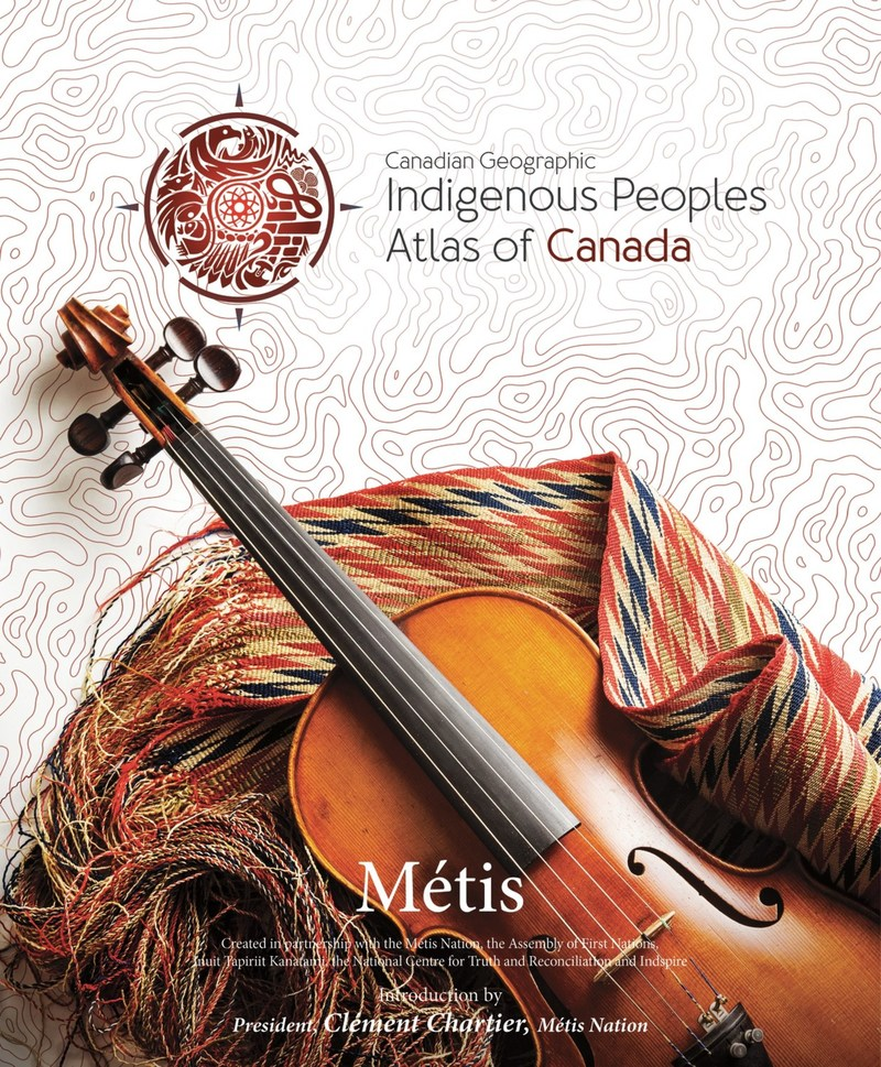 The Métis Atlas (CNW Group/Royal Canadian Geographical Society)