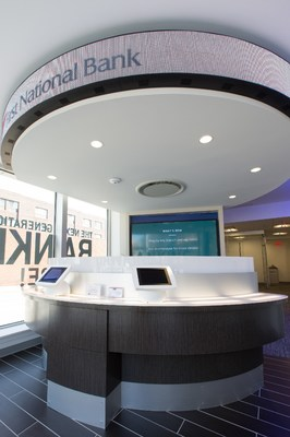One of FNB's innovative technology branches.