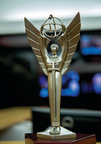 EWTN Global Catholic Network was honored with numerous Gabriel awards – for  news coverage in war-torn Iraq, for two high-end original docudramas, and for a new radio talk show – during the 53rd Annual Gabriel Awards ceremony, Thursday, June 14, at the Hyatt Regency in Green Bay, Wisconsin.