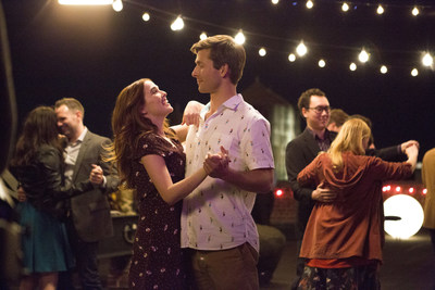 """Today, June 22, is National Kissing Day.  Watch Netflix' hit rom-com film, """"Set It Up,"""" starring Zoey Deutch and Glen Powell as two beleaguered assistants teaming up to trick their workaholic bosses into falling in love."""