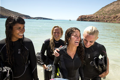 Scuba Diving Empowers Women During PADI Women's Dive Day Celebrations