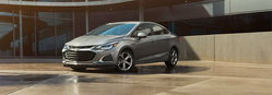 The 2019 Chevrolet Cruze is researched in Forest City, North Carolina.