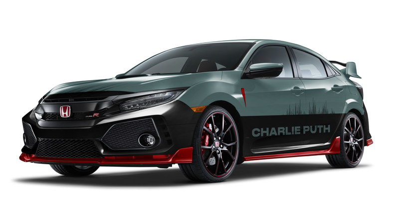 VIP Experience and Custom-designed Honda Civic Type R and Rebel 300 Motorcycle Join 2018 Honda Civic Tour Presents Charlie Puth Voicenotes (PRNewsfoto/American Honda Motor Co., Inc.)
