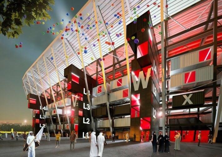 Picture of Ras Abu Aboud Stadium