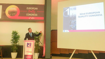 Oriental Yuhong Attended the 62nd European Quality Congress
