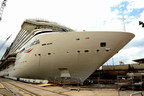 Costa Cruises Celebrates Float-out of Costa Venezia --  Its First Ship Being Built for China Market