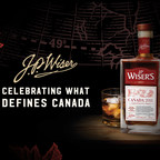 J.P. Wiser's releases limited edition bottle: Canada 2018. (CNW Group/Corby Spirit and Wine Communications)