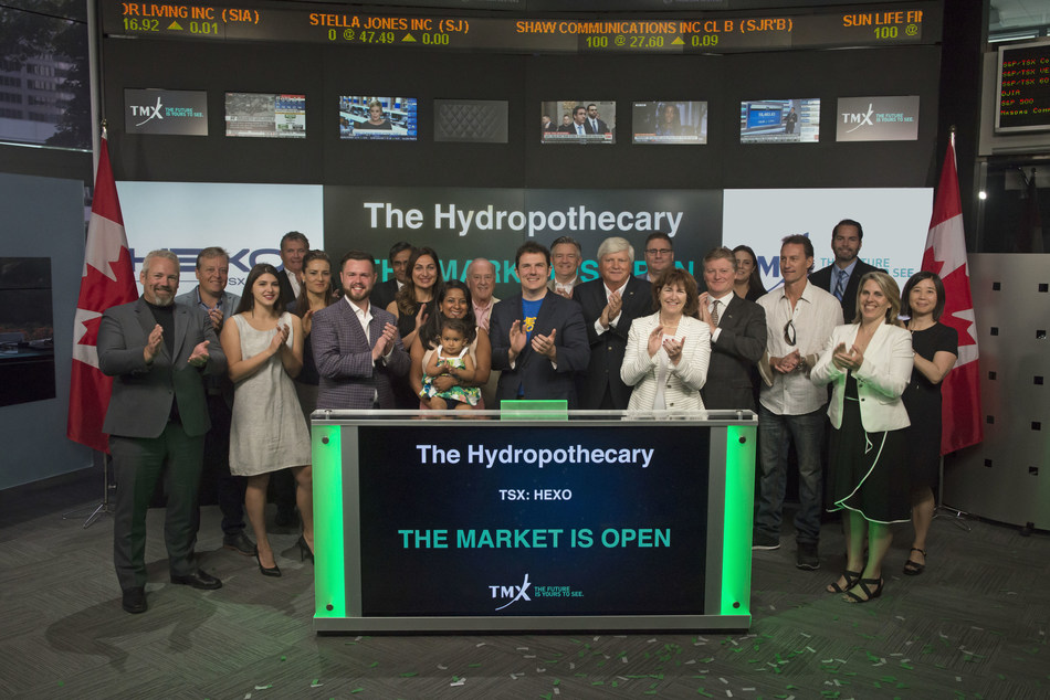 The Hydropothecary Corporation Opens the Market (CNW Group/TMX Group Limited)