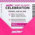 Swoop x Edmonton First Flights Celebration - Invitation (CNW Group/Swoop)