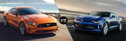 2018 Ford Mustang versus 2018 Chevy Camaro