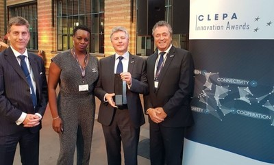 Brigade Electronics wins CLEPA Award (PRNewsfoto/Brigade Electronics)