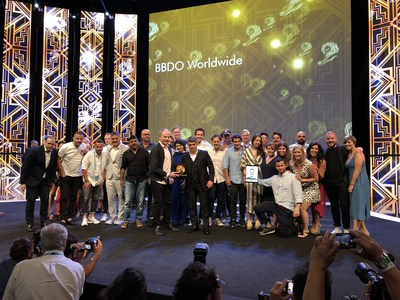 BBDO Named Network of the Year at the Cannes Lions International Festival of Creativity for Record-Setting Seventh Time