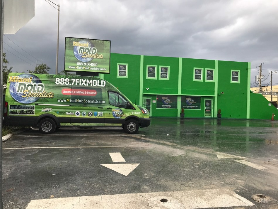 Miami Mold Specialist expands and invests into new centrally located South Florida commercial building as new headquarters