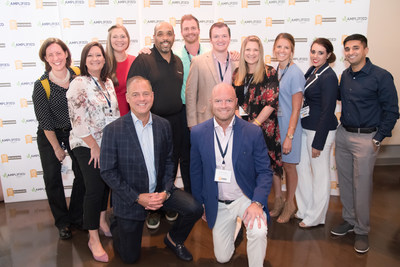 Premium team celebrates with the St. Louis Post-Dispatch at the 2018 Top Workplaces Award ceremony.