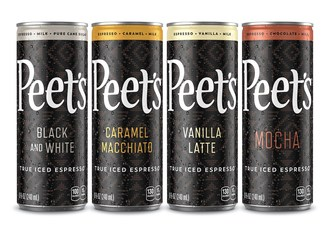 Peet's Coffee Expands Ready-to-Drink Portfolio with Debut and National Launch of Iced Espresso