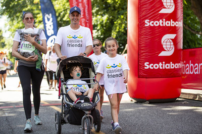 The 2018 Scotiabank Vancouver Half-Marathon & 5k saw 6,700 racers out this weekend, with more than $970,000 raised for 70 local charities as part of the Scotiabank Charity Challenge. (Photo credit: Inge Johnson / Canada Running Series) (CNW Group/Scotiabank)