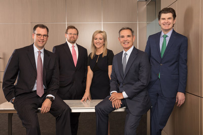 The EnLink Midstream Executive Leadership Team (left to right): President & Chief Executive Officer Michael J. Garberding; Executive Vice President & Chief Operating Officer Benjamin D. Lamb; Executive Vice President, Chief Legal & Administrative Officer, & Secretary Alaina K. Brooks; Executive Chairman Barry E. Davis; and Executive Vice President & Chief Financial Officer Eric D. Batchelder