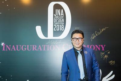 Renowned jewellery designer Fei Liu at the Inauguration Ceremony