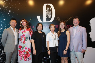 From left: Tai Wong, Business Development Director of PGI; Paola De Luca, Founder & Creative Director of The Futurist Ltd; Ida Wong, General Manager of TPAHK; Rebecca Cheng, Chief Operation Officer of Rio Pearl; Gloria Au, Sales Manager of Crossfor HK Ltd and Hidetaka Dobashi, CEO of Crossfor Co Ltd