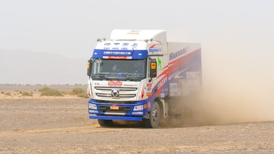 XCMG's Hanvan Heavy Trucks Excel In Extremes At 2018 Taklimakan Rally.