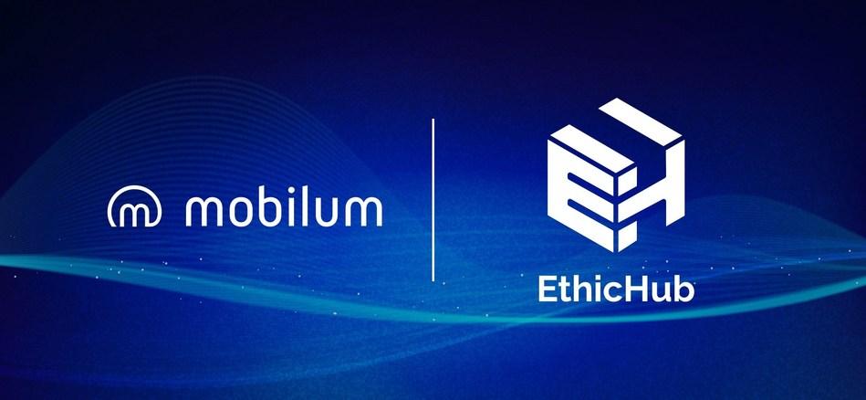 Payment Processing Platform Mobile Partner with EthicHub (PRNewsfoto/Mobilum)