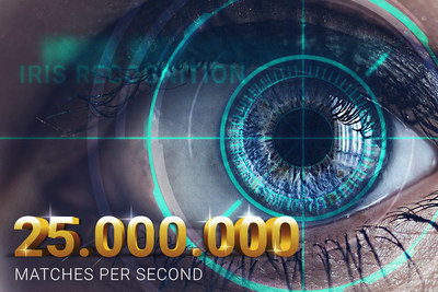 DERMALOG's iris recognition compares up to 25 million eyes per second. Photo credit: DERMALOG
