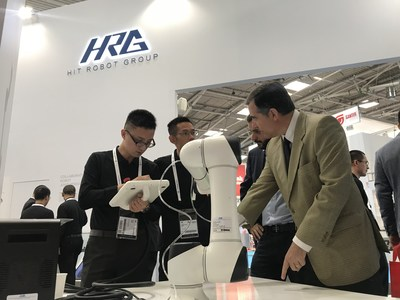 HRG presents T5 at automatica 2018