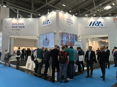 HRG Showcases Robotics Biosphere at automatica 2018