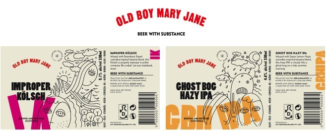 Figure 2: Labels of the two beer ranges to be launched by CLV (CNW Group/LGC Capital Ltd)