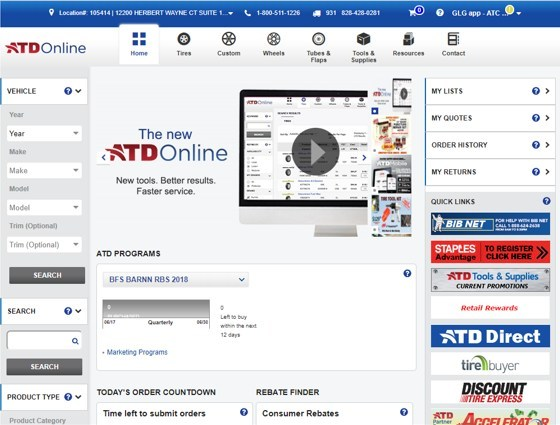 ATD Online Homepage