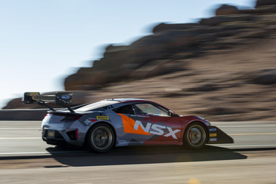 Acura NSX Sets Hybrid Record, Fourth in Class at 2018 Pikes Peak International Hill Climb