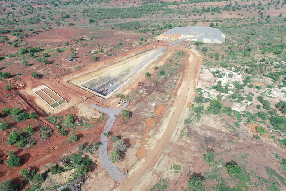 Bagassi South - Aerial View (CNW Group/Roxgold Inc.)