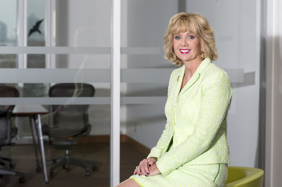 Ann Buller will have served as president and CEO of Toronto's Centennial College for 15 years when she retires next spring. (CNW Group/Centennial College)
