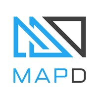 MapD logo (PRNewsfoto/MapD Technologies)