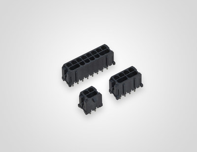 TE Connectivity's ELCON Micro power connectors deliver high current density in a commonly used industry footprint of 3.0mm.