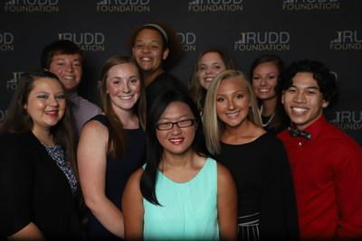 First cohort of Rudd Scholars from Kansas attending Wichita State University.