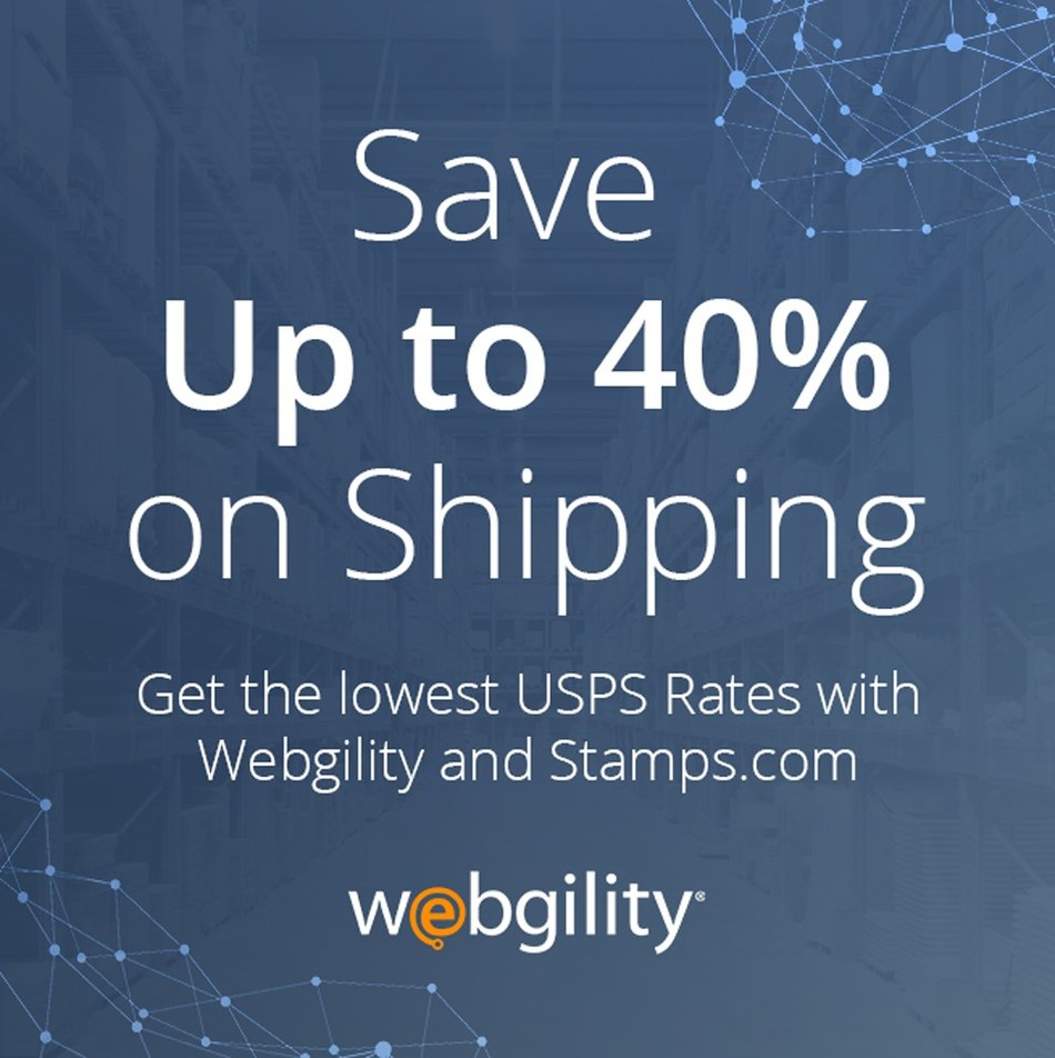 With this agreement, Webgility and Stamps.com ensure smaller companies get the same efficiencies and discounted pricing as big retailers and brands.