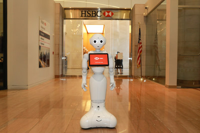 HSBC Bank and SoftBank Robotics America Partner to Bring