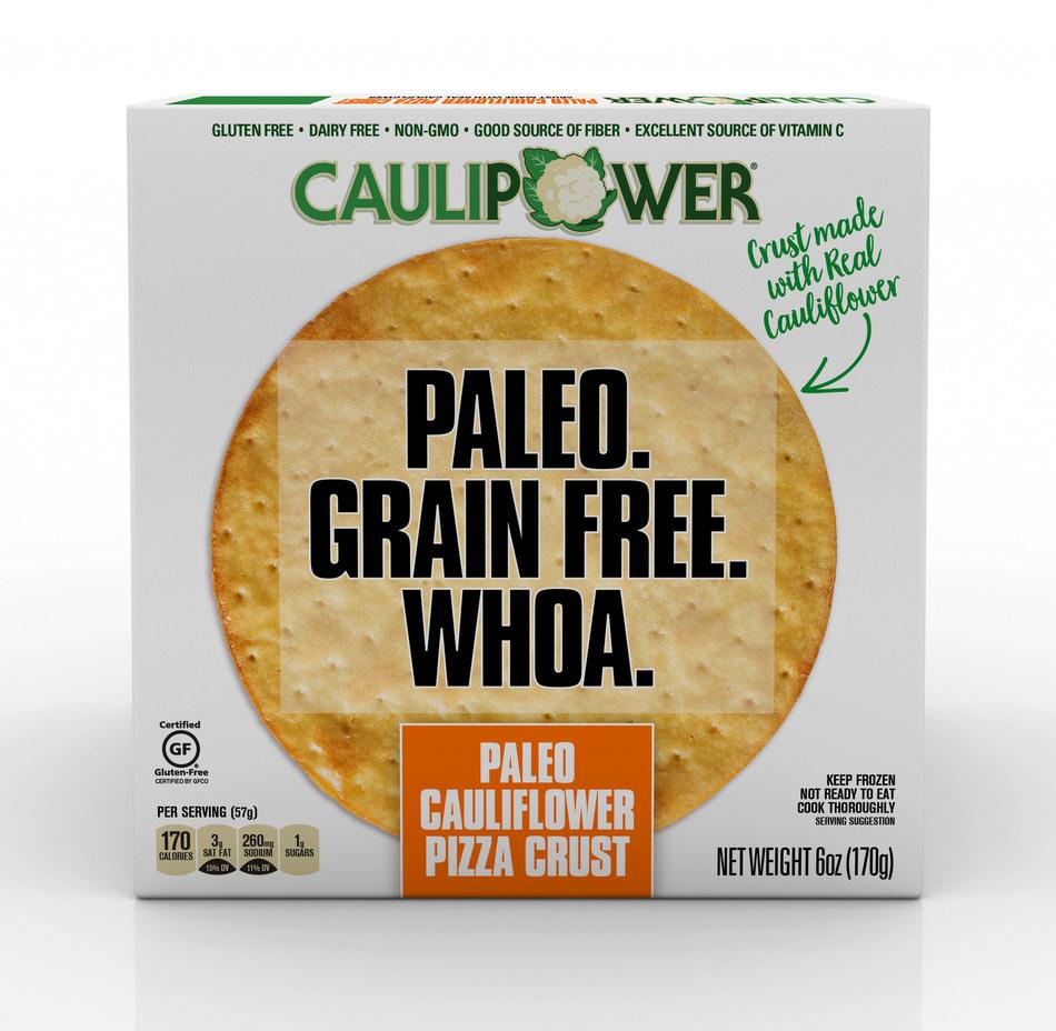 CAULIPOWER LAUNCHES FIRST-EVER FROZEN PALEO CAULIFLOWER PIZZA CRUST